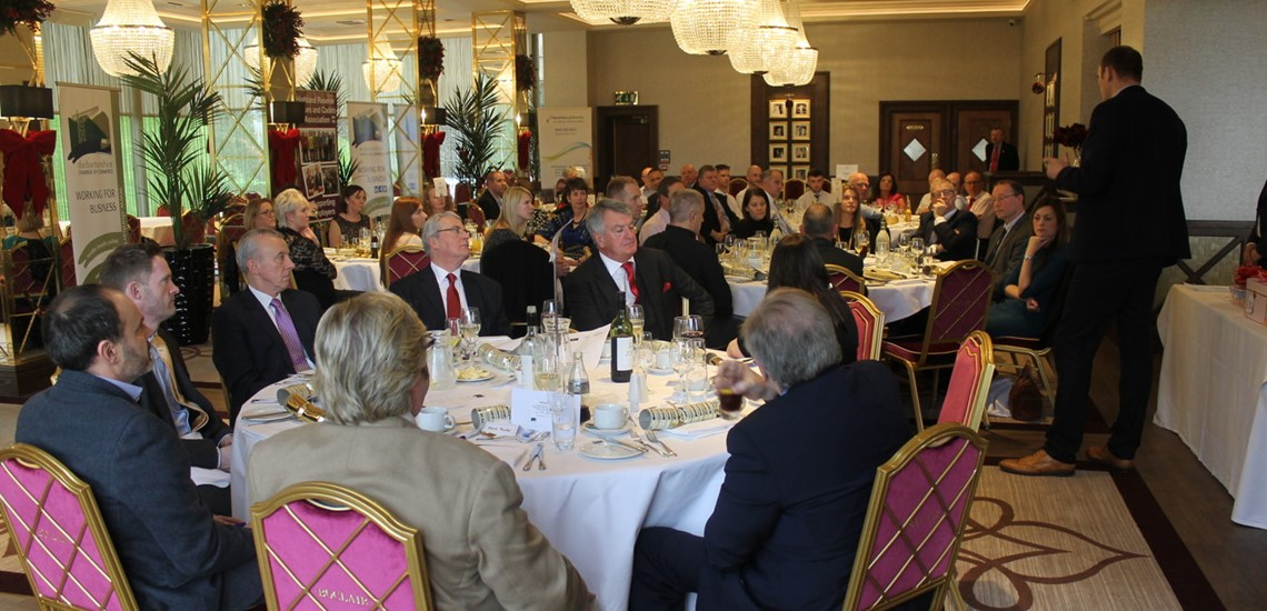 Dunbartonshire Chamber of Commerce Christmas Lunch